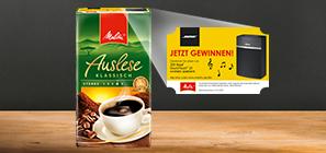 Mit Melitta® Filterkaffee Musik in bester Qualität genießen!