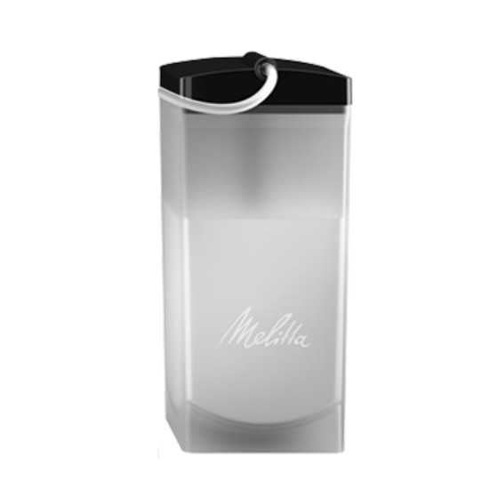 milchbeh lter wei transparent 1 liter komplett melitta online shop. Black Bedroom Furniture Sets. Home Design Ideas