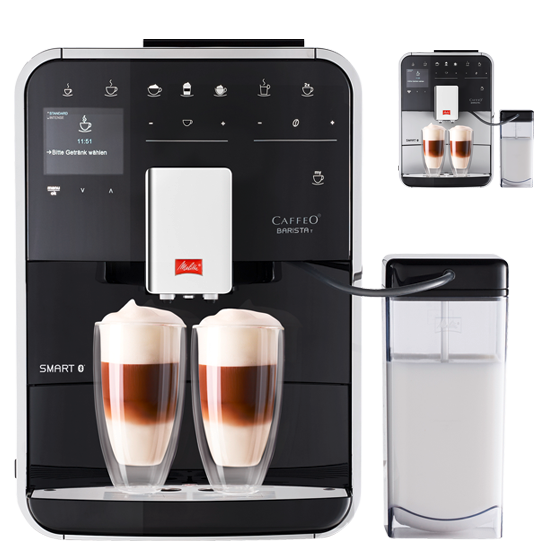 barista t smart kaffeevollautomat melitta online shop. Black Bedroom Furniture Sets. Home Design Ideas