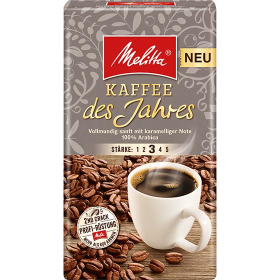 melitta kaffee des jahres 2018 filterkaffee 500g melitta online shop. Black Bedroom Furniture Sets. Home Design Ideas