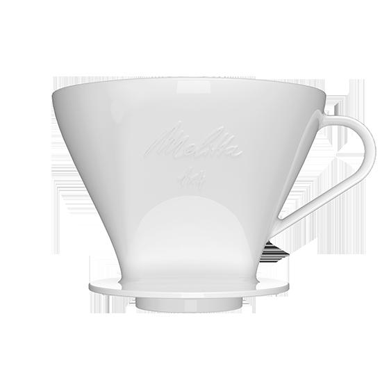 kaffeefilter 1x4 aus porzellan wei melitta online shop. Black Bedroom Furniture Sets. Home Design Ideas